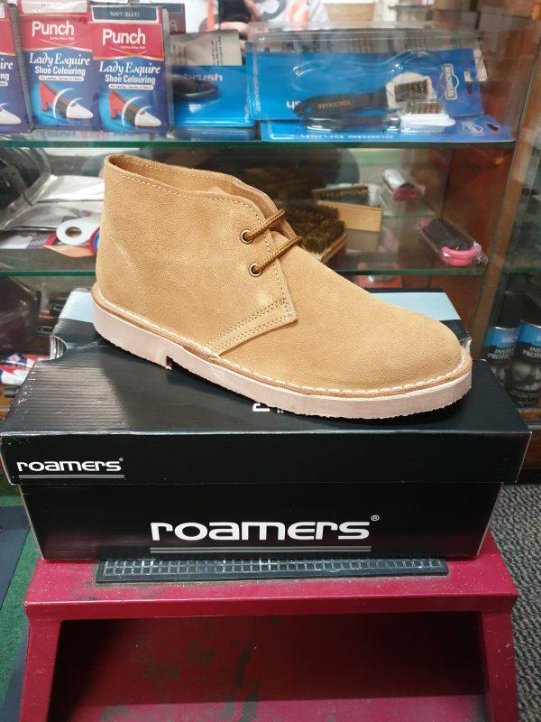 desert boots, roamers