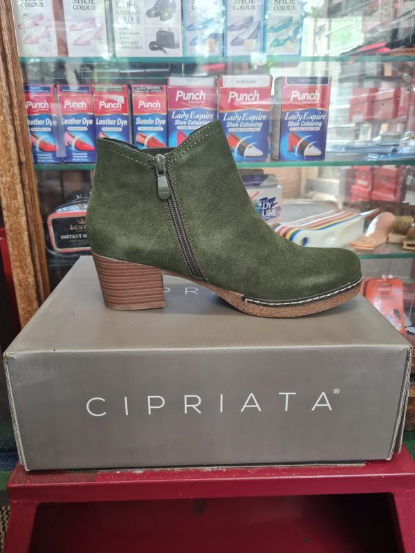 shoes and boots cipriata green boots
