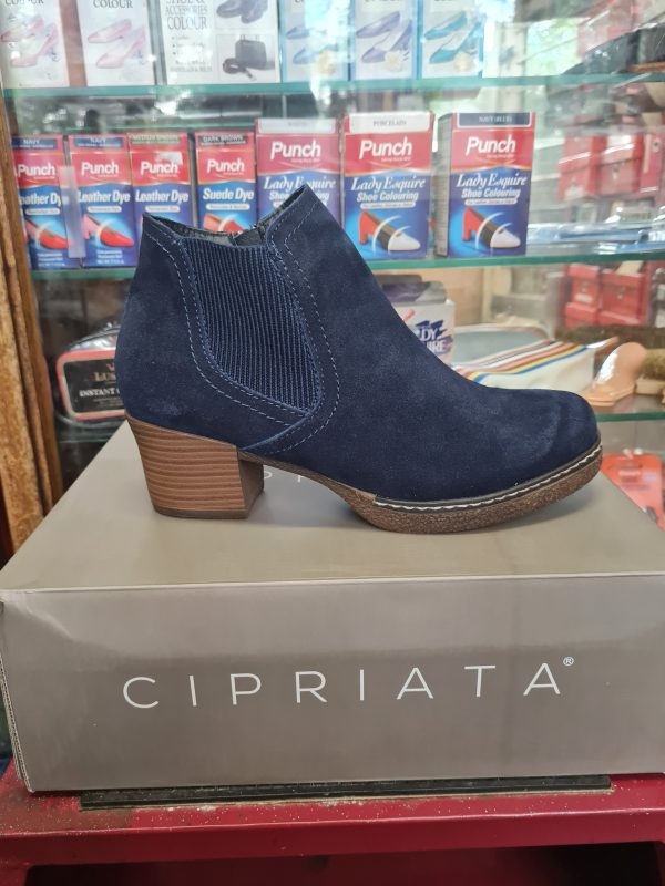 shoes and boots - blue cipriata